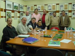 Primera reunión para elaborar los Estatutos (Santander, Cantabria, España, noviembre 2001)